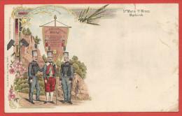 68 - MARKIRCH - Ste MARIE Aux MINES - Litho Couleur - Société Des Mineurs - Mines D´ Argent - Sainte-Marie-aux-Mines