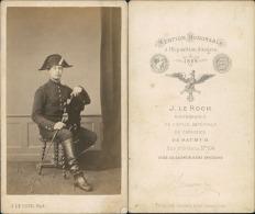 Le Roch, Saumur, éléve Officier à Identifier Vintage CDV Albumen Carte De Visite,   CDV, Tirage Al - Non Classés