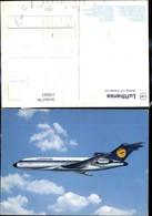 110263,Verkehrsflugzeug Flugzeug Lufthansa Boeing 727 Europa Jet - 1946-....: Moderne