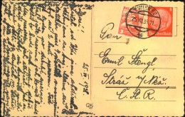 1938, OSTMARK, Mischfrankatur 3 Groschen Trachten Und 8 Pfg. Hindenburg Sondertarif Ab WIEN, So Selten - 1918-1945 1. Republik