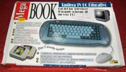 MEGA BOOK (TASTIERA TV PC EDUCATIVO) - COMPLETA DI TUTTO CON SCATOLA ORIGINALE - Giochi Elettronici