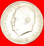 § FAO: HAITI ★ 5 CENTIMES 1975 UNC MINT LUSTER! LOW START ★ NO RESERVE! Duvalier (1971-1986) - Haïti