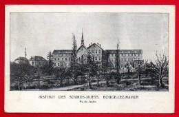 Bouge-Lez-Namur. Institut Des Sourds-muets . Vu Du Jardin. 1921 - Namur
