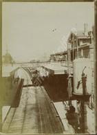 La Gare De Nogent - Vincennes. Train. 1900. - Trains