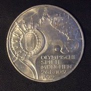 10 Mark Allemagne / Germany 1972 G - Jeux Olympiques / Olympic Games - Argent / Silver - [ 7] 1949-… : FRG - Fed. Rep. Germany