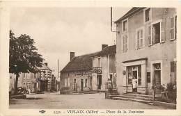 - Depts Div.-ref-HH827 - Allier - Viplaix - Place De La Fontaine - Magasin - Magasins - Hotel Pejaudie - Hotels - - Frankrijk