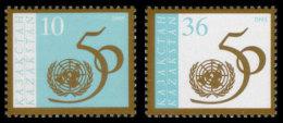 Kazakhstan, 1995, United Nations 50th Anniversary, MNH, Michel 102-103 - Kazakhstan