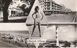 BERCK  PLAGE   Multivues: Casino, Phare, Plage, Esplanade - Berck