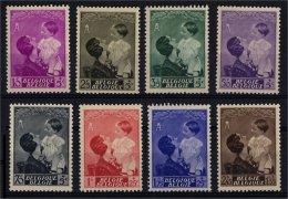 1937 - Nr 447-454 * - Abarten Und Kuriositäten