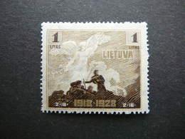 Lietuva Litauen Lituanie Litouwen Lithuania # 1928 MH # Mi. 287 - Lituanie
