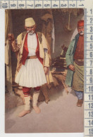 ALBANIA GRECO ALBANESE COSTUME COSTUMI SERIE N. 451 FOTOCROMIA - Albania