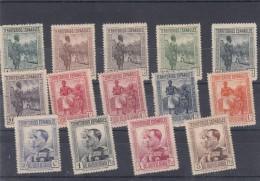 0052 Lote8 GUINEA 202/15 CON CHARNELA - Guinea Española