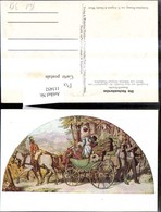 113452,Künstler Ak N. Gemälde Moritz V. Schwind Post Postwesen Hochzeitsreise - Post & Briefboten