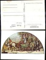 113464,Künstler Ak N. Gemälde Moritz V. Schwind Post Postwesen Hochzeitsreise - Post & Briefboten