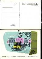 113442,Künstler Ak Altelier Harnisch Post Postwesen 50 Jahre Postauto I. Österreich P - Post & Briefboten