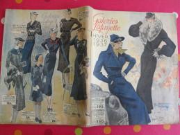 Catalogue Galeries Lafayette Hiver 1936-1937. Vêtements Jeux Jouets Bijoux Chaussures Vaisselle - Fashion