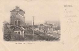 92 - SCEAUX  - La Gare Et Les Voies - Sceaux
