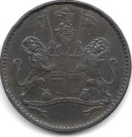 *saint Helena & Ascension 1/2 Penny 1821  Km A4  Vf+ !!! - Sainte-Hélène