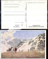 125733,Künstler Ak Post Ankunft D. Stelviopost A. D. Ferdinandshöhe Postkutsche Sulde - Post & Briefboten