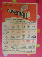 Peinture Novémail. émail à Froid. Au Bon Marché. Boucicaut. Vers 1938 - Advertising