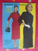 Catalogue Filatures Des 3 Suisses Roubaix. Hiver 1957-1958. Vêtements Linge Lingerie - Fashion