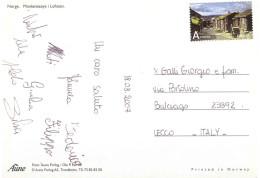 CARTOLINA LOFOTEN X ITALY - Europa-CEPT