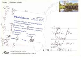 CARTOLINA MOSKENES I LOFOTEN X ITALY - Europa-CEPT