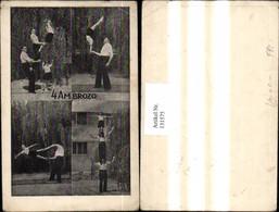 131575,Mehrbild Ak Turnen Zirkus 4Ambrozo - Gymnastik