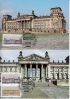 Carte Maximum Card 1986 Germany Mi 1287 - 1289 Sc 1466 #20083 - [7] République Fédérale