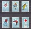 1971 - J.0. De Sapporo Michel No 2984/2989 Et Y&T No 2652/2657 - 1948-.... Repúblicas
