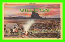 INDIENS - NAVAJO-LAND - ANIMATED -  LOLLESGARD SPECIALTY CO - - Indiens De L'Amerique Du Nord
