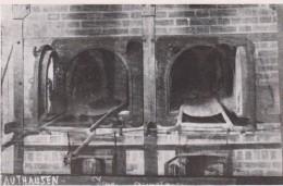 CPSM 10X15. JUDAICA Camp De Concentration MAUTAUSEN 2 Des Fours Crématoires Où D'innombrables Déportés Ont été Incinérés - Guerre 1939-45