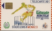 CARTE-PUBLIC-MONACO-50U-MF15-GEM A-GASTORADE 91-UTILISE-TBE - Monaco