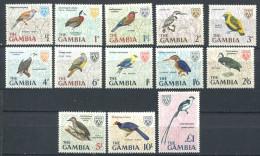 167 GAMBIE 1966 - Yvert 208/20 - Oiseau - Neuf ** (MNH) Sans Trace De Charniere - Gambie (1965-...)