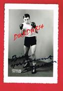 Sport Boxe Photo D´un Boxeur... GUILDO  CANTAMESSE ... Prof. M. TASSART  Signature  Manuscrite ... - Sport