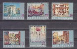 1972 - Sauvez Venise.Tableaux  Michel No 3053/3058 Et Y&T No 2713/2718 - Usado