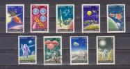 1972 - APOLLO  Mi No 3069/3077 Et Yv No 2729/2737 - 1948-.... Repúblicas