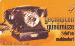 Turkey, N-131,  Telephone Sets From Past Till Present 2, Bindokuzyüzotuzbir - 1931, 2 Scans.  Manufacturer: Abacicard - Turkije