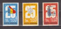 1972 - 20 Anniv. De La Republique Michel No 3080/3082 Et Y&T No 2726/2728 - 1948-.... Republics