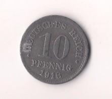 ALEMANIA 10  PFENNIG   1918 ? - [ 2] 1871-1918 : Imperio Alemán