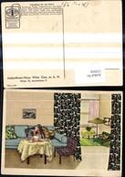 132910,Reklame Indanthren Stoff Stoffe Wien Wohnzimmer - Werbepostkarten