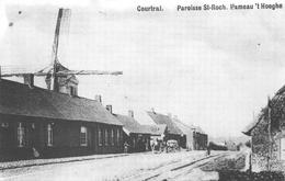 Windmolen    Kortrijk Courtrai   Paroisse St-Roch. Hameau ' T Hooghe  Molen Op 't Hoge         A1842 - Moulins à Vent