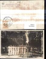 135863,Foto Ak Turnen Reckturnen Männer Windischgarsten 1929 - Gymnastik