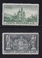VATICAN, 1957, Unused Hinged Stamp(s), Mariazell Basilica,  Mi 276=279, #4192, 2 Values Only - Unused Stamps