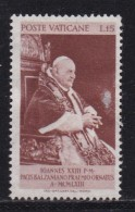 VATICAN, 1963, Unused Hinged Stamp(s), Pope Johannes XXIII,  Mi 427, #4253, 1 Value  Only - Vatican