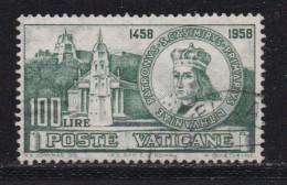 VATICAN, 1959, Used Stamp(s), Casimir,  Mi 330, #4199, 1 Value - Vatican
