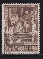 VATICAN, 1960, Used Stamp(s), Pope Pius X,  Mi 344, #4213, 1 Value - Vatican
