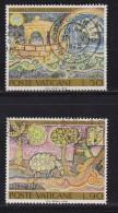 VATICAN, 1974, Used Stamp(s), Noah.s Ark,  Mi 633-634, #4272, Complete - Vatican
