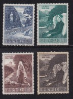VATICAN, 1958, Mixed Stamp(s), Virgin Maria,  Mi 282=287, #4193,  4 Values Only - Used Stamps