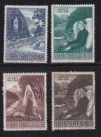 VATICAN, 1958, Mixed Stamp(s), Virgin Maria,  Mi 282=287, #4193,  4 Values Only - Vatican
